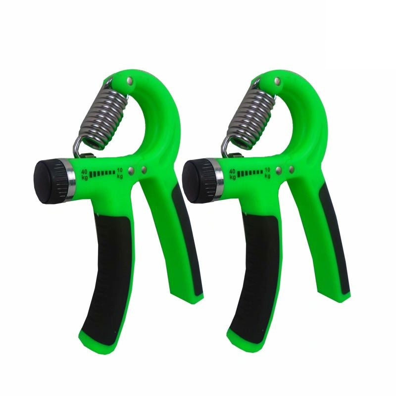 Hand Gripper with Adjustable Resistance - 2 Pack-Green/Black-Daily Steals