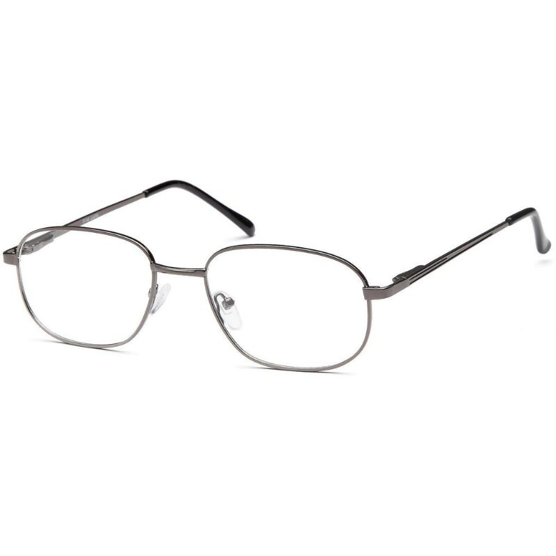 Men's Eyeglasses 60 19 150 Gunmetal Metal