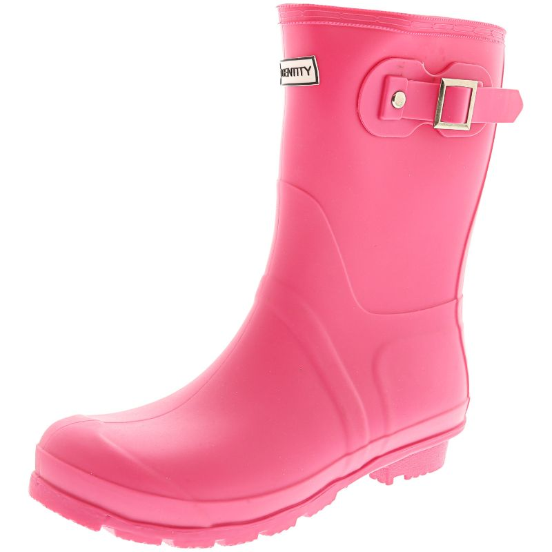 Exotic Identity Original Tall or Short Rain Boots-Pink - Short-6M-Daily Steals