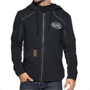 Von Dutch Men's Full-Zip Hooded Fleece SweaT-Shirt-Von Dutch Black-2XL-Daily Steals