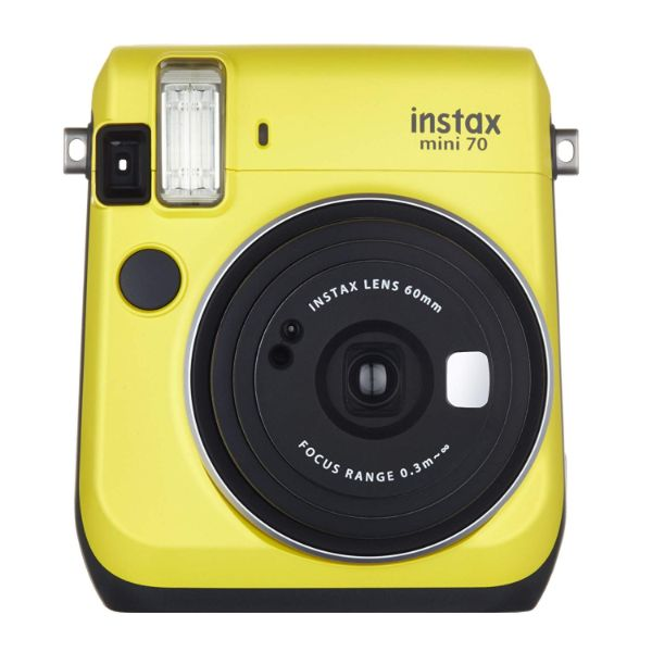 Fujifilm Instax Mini 70 - Instant Film Camera-Yellow-Daily Steals