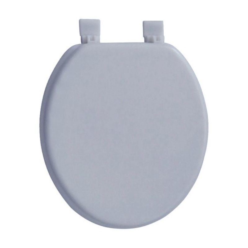 Padded Round Toilet Seat Amp Cover With Easy Clean Hinges