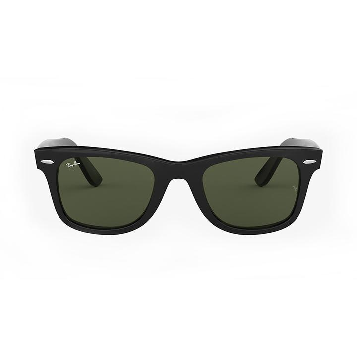 Ray-Ban RB2140 ORIGINAL WAYFARER CLASSIC 54 Green & Black Acetate-Daily Steals