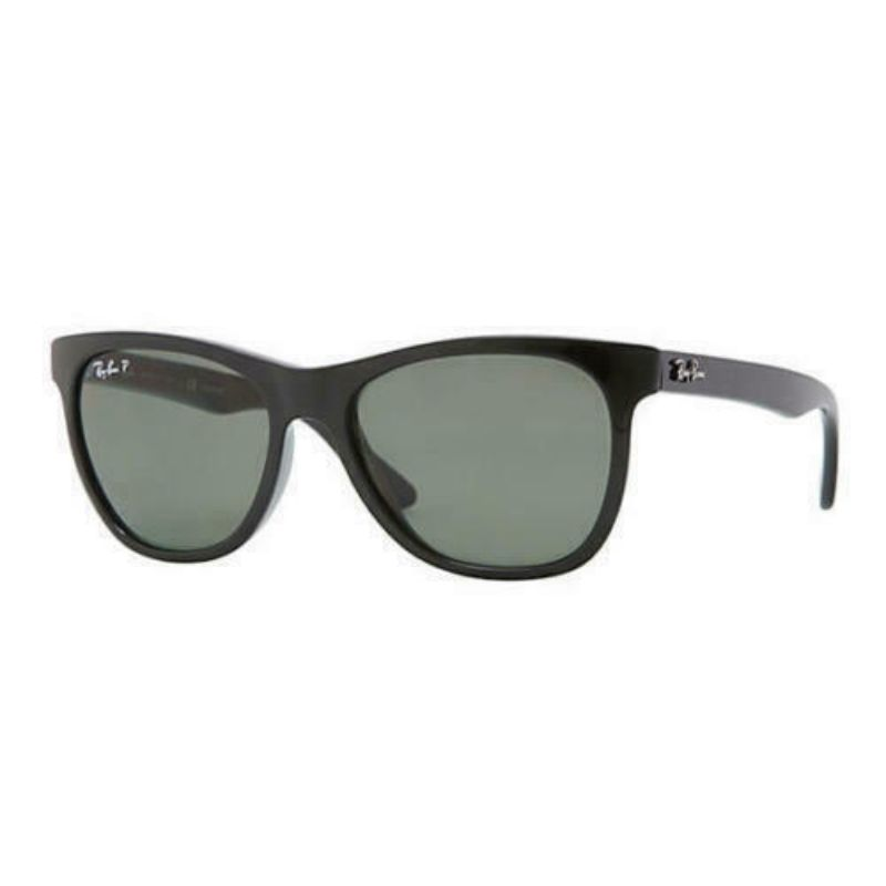 Ray-Ban Men's Sunglasses RB4184 601/9A 54MM - Black Frame, Polarized Grey Classic Lens