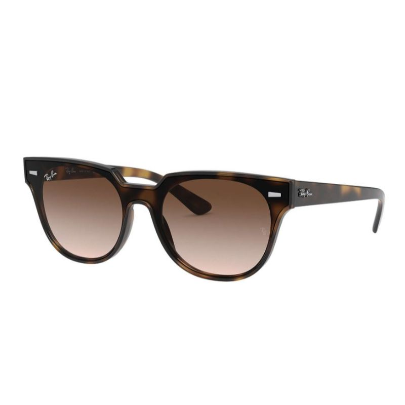 Ray-Ban RB4368N Dark Brown Classic Blaze Meteor Unisex Sunglasses-Daily Steals