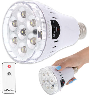 3 in 1 LED Emergency Bulb w/ Remote-Daily Steals