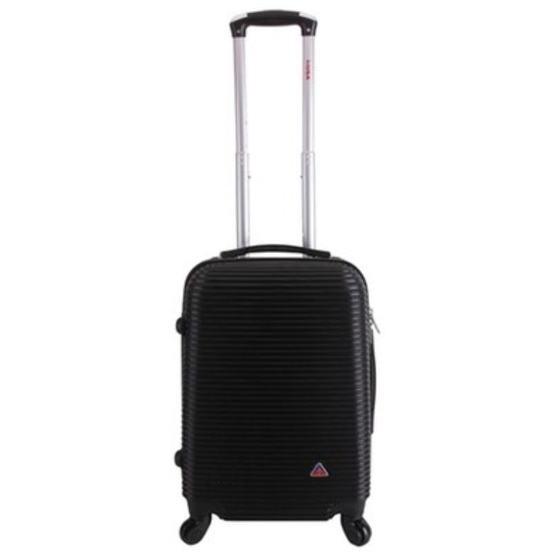 InUSA Royal Hard-Sided Spinner Luggage Cases and Sets-Black-20''-Daily Steals