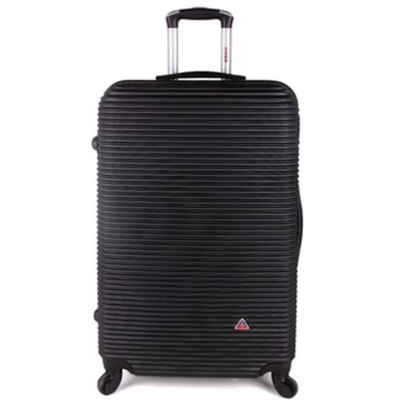 InUSA Royal Hard-Sided Spinner Luggage Cases and Sets-Black-24''-Daily Steals
