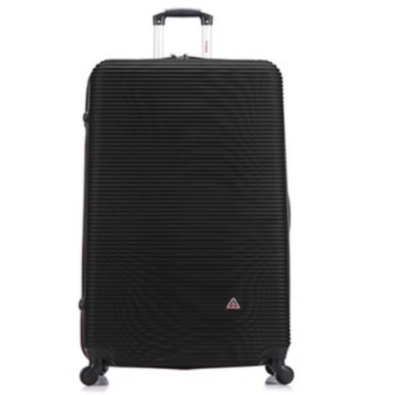 InUSA Royal Hard-Sided Spinner Luggage Cases and Sets-Black-28''-Daily Steals