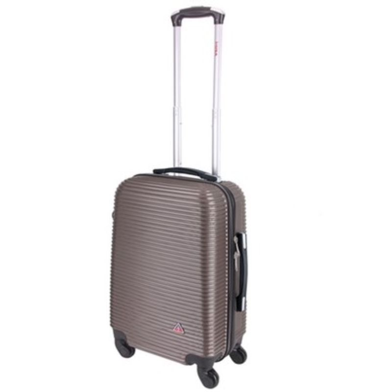 InUSA Royal Hard-Sided Spinner Luggage Cases and Sets-Brown-20''-Daily Steals