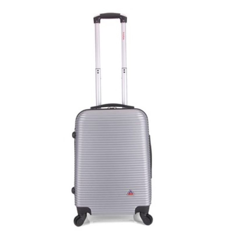 InUSA Royal Hard-Sided Spinner Luggage Cases and Sets-Silver-20''-Daily Steals