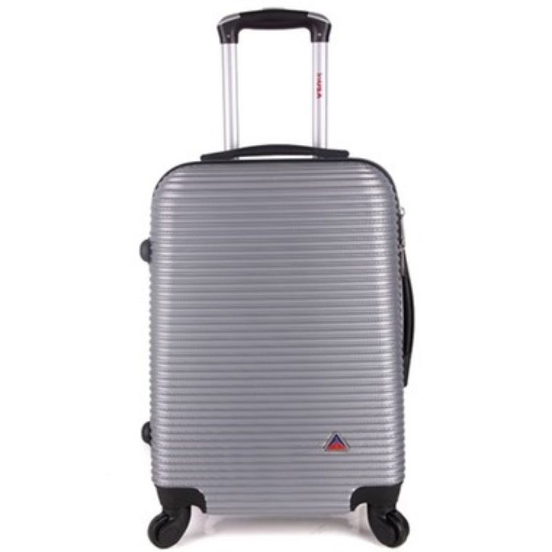 InUSA Royal Hard-Sided Spinner Luggage Cases and Sets-Silver-24''-Daily Steals