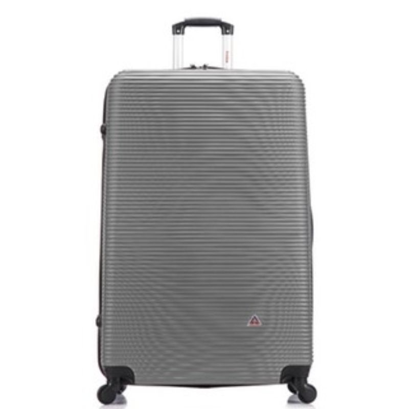 InUSA Royal Hard-Sided Spinner Luggage Cases and Sets-Silver-28''-Daily Steals