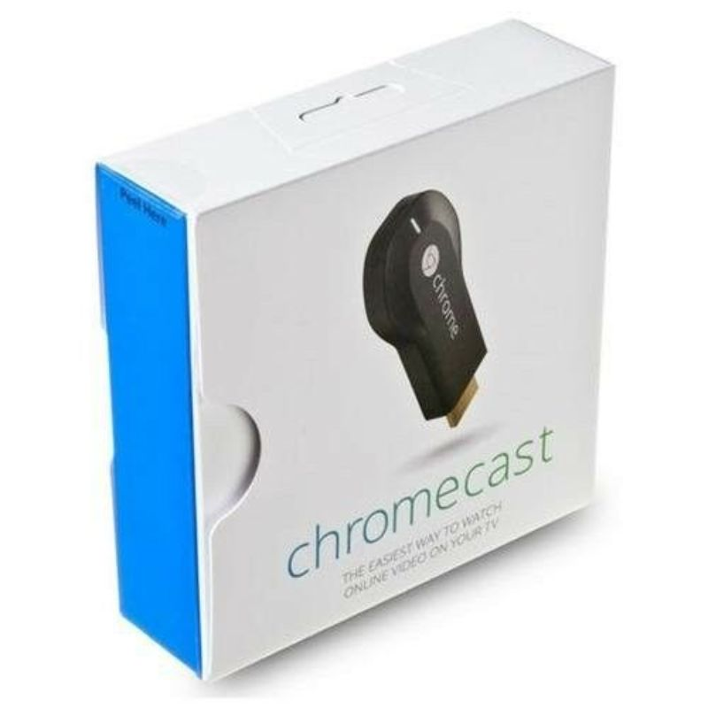 Google Chromecast HDMI Streaming Media Player (H2G2-42)-Daily Steals