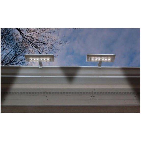 NITEBRITE Solar Gutter or Fence Lights - 2, 4, or 10 Pack-Daily Steals