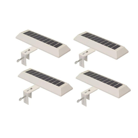 NITEBRITE Solar Gutter or Fence Lights - 2, 4, or 10 Pack-4 Pack-Daily Steals