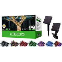 125LED Solar Powered String Lights - 12 Feet-Daily Steals