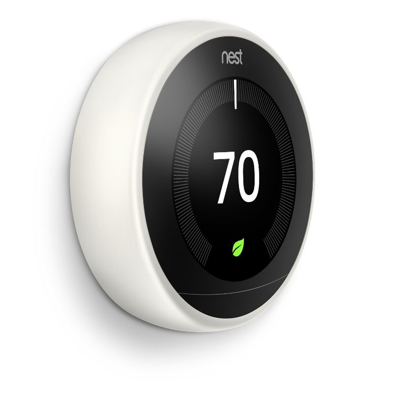 Google Nest Learning Thermostat - 3rd Generation-White-Daily Steals