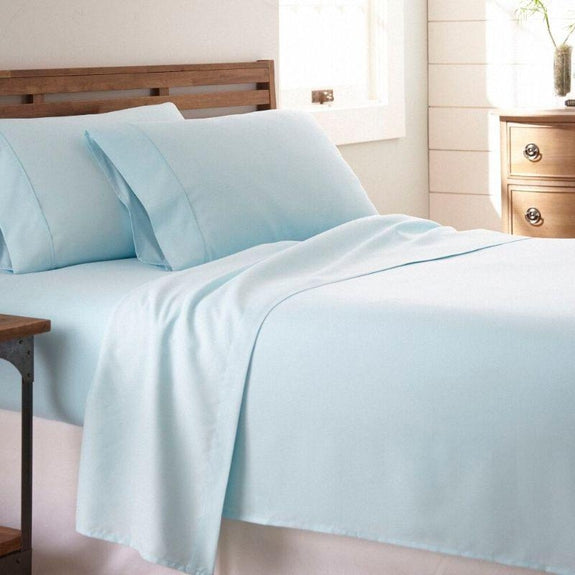 Premium Collection Ultra-Soft Sheet Set (3- or 4-Piece)-Aqua-Twin-Daily Steals