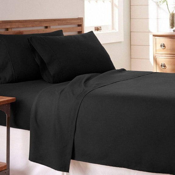 Premium Collection Ultra-Soft Sheet Set (3- or 4-Piece)-Black-Twin-Daily Steals