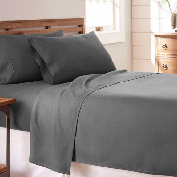Premium Collection Ultra-Soft Sheet Set (3- or 4-Piece)-Gray-Twin-Daily Steals