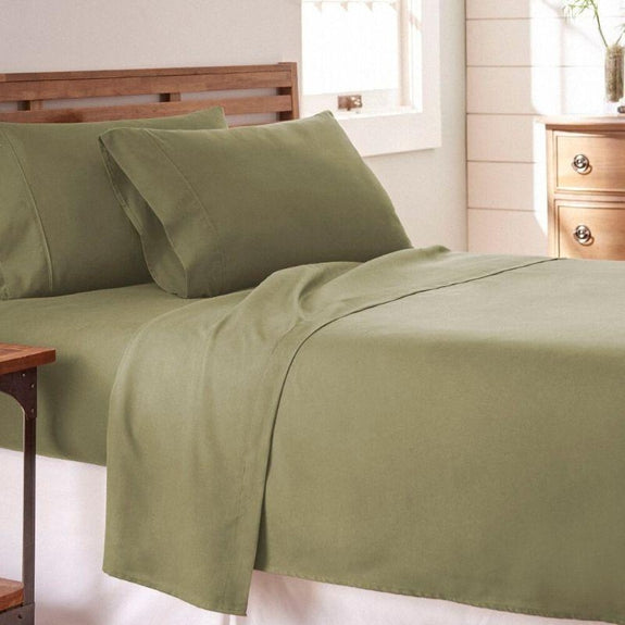 Premium Collection Ultra-Soft Sheet Set (3- or 4-Piece)-Sage-Twin-Daily Steals