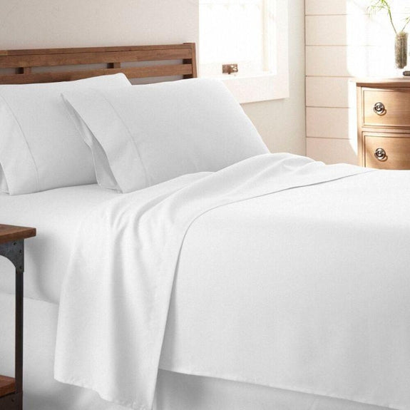 Premium Collection Ultra-Soft Sheet Set (3- or 4-Piece)-White-Twin-Daily Steals