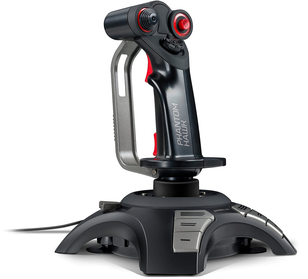 Speedlink PHANTOM HAWK Flightstick with Hand Rest-Daily Steals