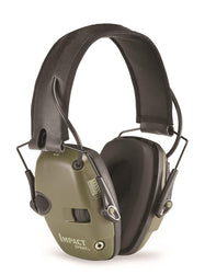 Howard Leight by Honeywell Impact Sport Sound Amplification Electronic Shooting Earmuff - Classic Green-Daily Steals