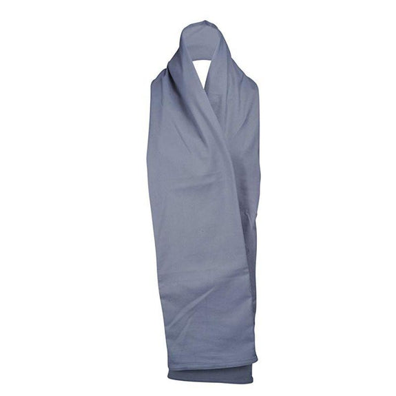 The RainScarf Reversible Waterproof Scarf with Hood and Pockets-Grey-Daily Steals