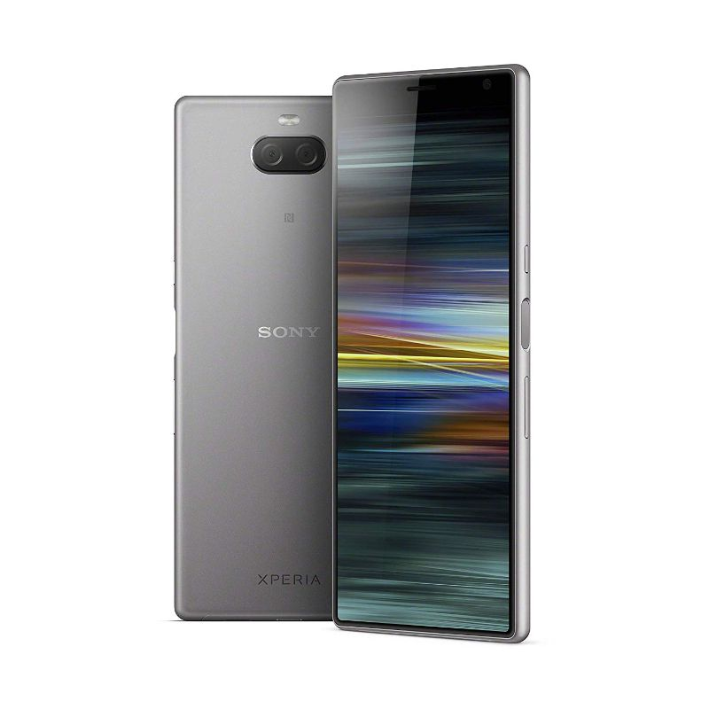 Sony Xperia 10 Plus GSM Unlocked Smartphone-Silver-Daily Steals