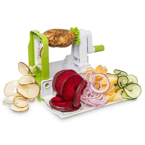 Daily Steals-5-Blade Vegetable Spiralizer and Slicer-Kitchen-