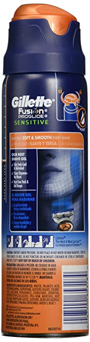 Gillette Fusion ProShield Chill Bundle with Four Razor Blade Refills plus Ocean Breeze Shave Gel-Daily Steals