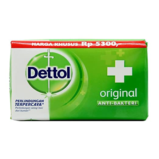 Dettol Anti-Bacterial Hand and Body Bar Soap, Original, 3.88 Oz - 12 Pack-Daily Steals