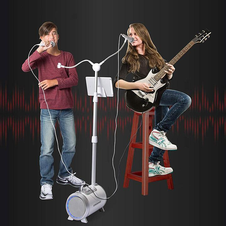 update alt-text with template Daily Steals-Karaoke Machine for Adults and Kids with 2 Microphones-Hobby and Toys-