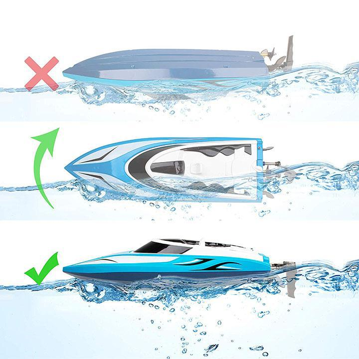 Daily Steals-H102 Velocity Remote Controlled Boat for Pools and Lakes-Hobby and Toys-