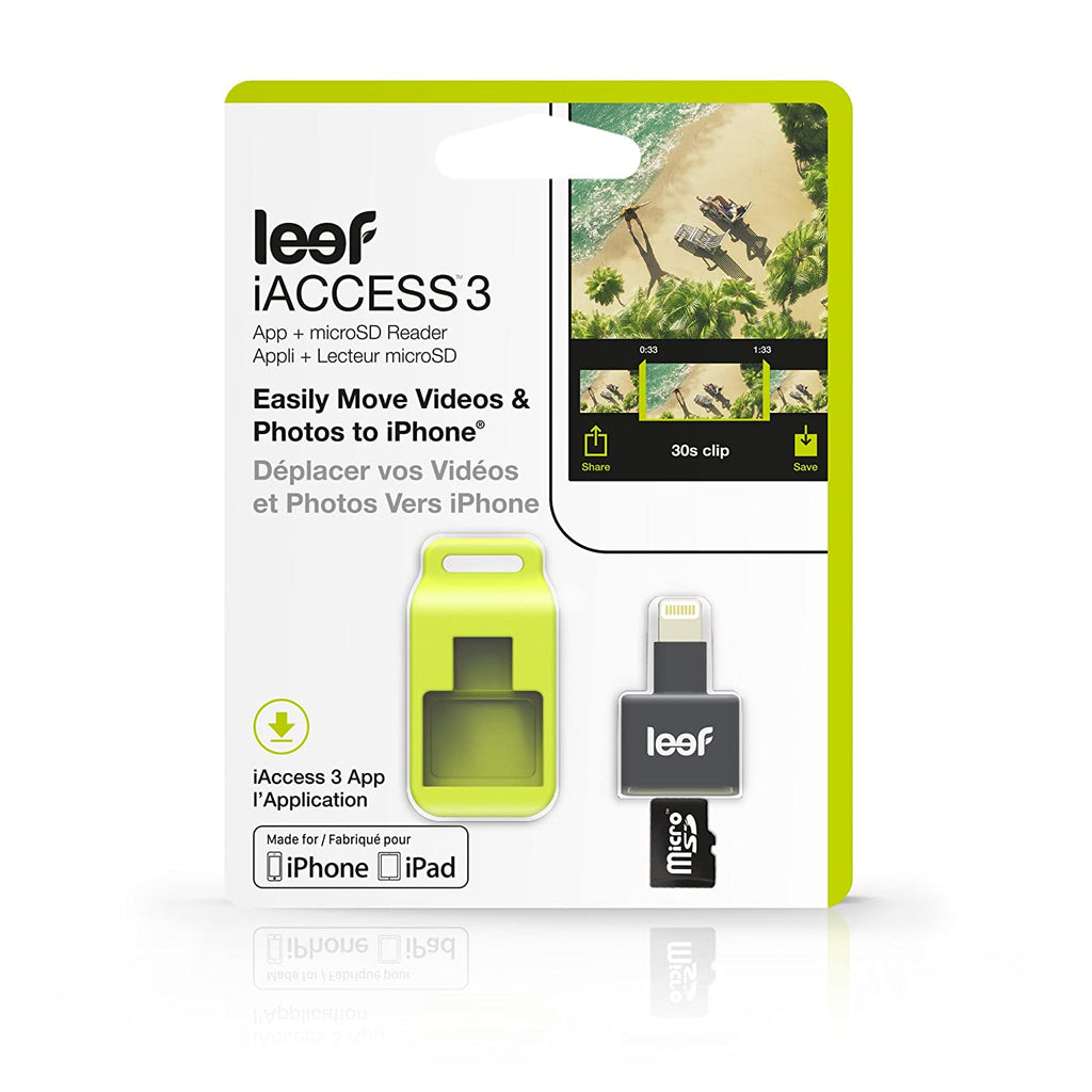 Lecteur de carte microSD iOS Leef iAccess 3 pour iPhone et iPad - Daily Steals