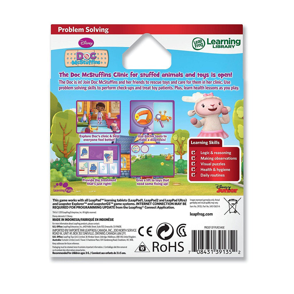 Daily Steals-LeapFrog Learning Expert Disney Doc McStuffins Learning Game-Media-