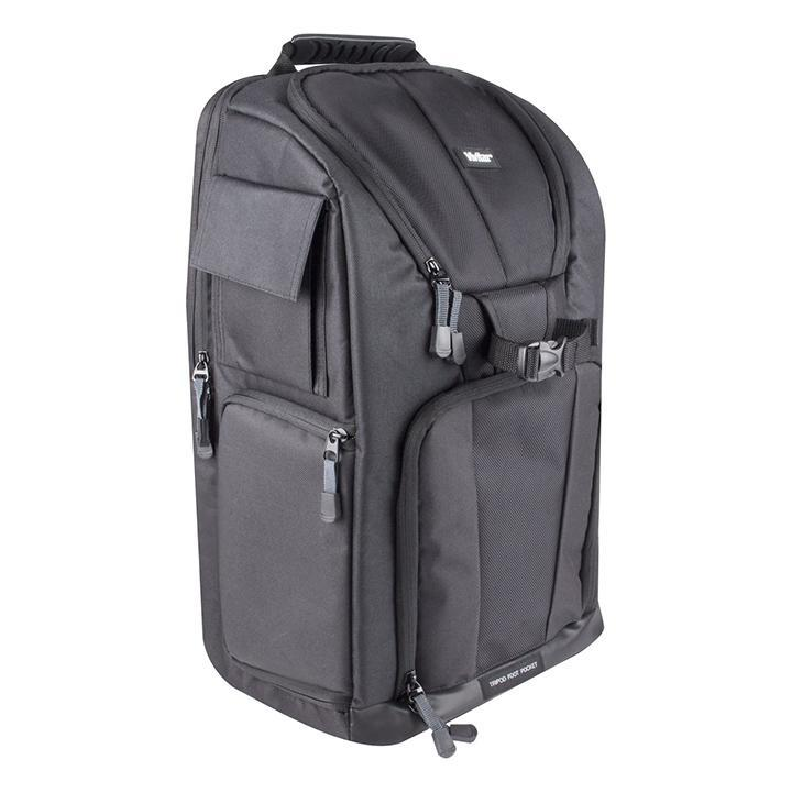 update alt-text with template Daily Steals-Vivitar Photo SLR Camera Laptop Sling Backpack - Large, Black-Accessories-