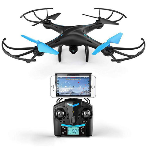 Daily Steals-Force1 Blue Jay WiFi FPV Drone with Camera-Hobby and Toys-