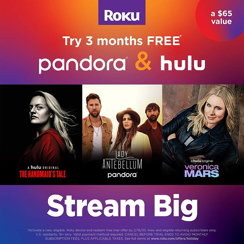 Roku Streaming Stick | Portable; Power-Packed Streaming Device-Daily Steals