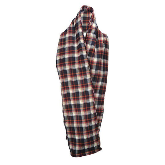 The RainScarf Reversible Waterproof Scarf with Hood and Pockets-Plaid-Daily Steals