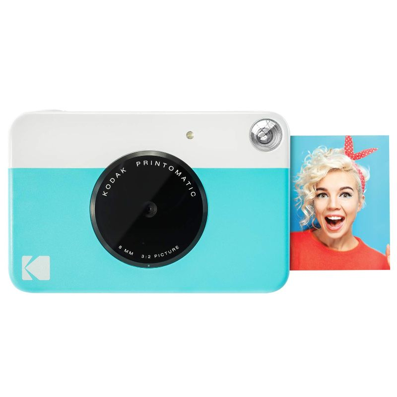 Kodak PRINTOMATIC Digital Instant Print Camera - Blue-Daily Steals