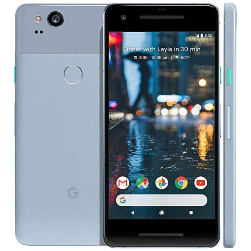 Google Pixel 2 / 2XL Factory Unlocked Bundle-Kinda Blue-Pixel 2-64GB-Daily Steals