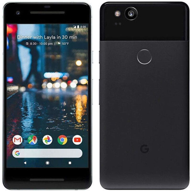 Google Pixel 2 / 2XL Factory Unlocked Bundle-Just Black-Pixel 2-64GB-Daily Steals