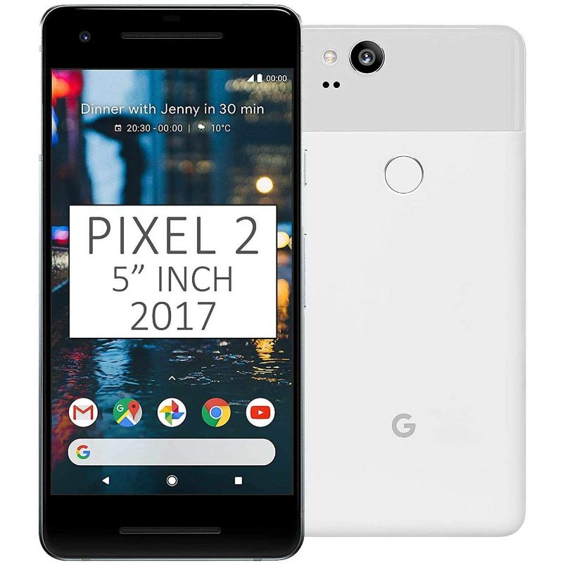 Google Pixel 2 / 2XL Factory Unlocked Bundle-White-Pixel 2-64GB-Daily Steals