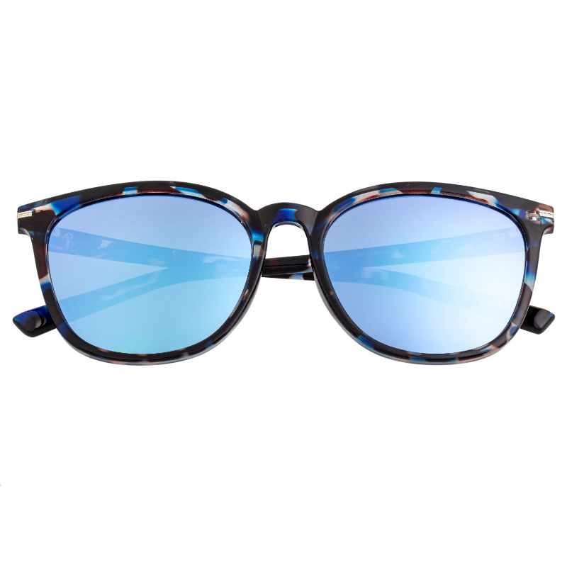 Bertha Piper Polarized Sunglasses-Blue Tortoise/Blue-Daily Steals