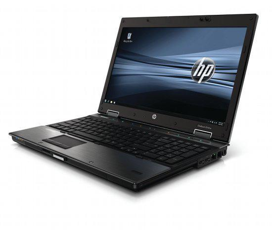 HP 8540W bærbar med Intel Core i7,1.87GHz processor, 8 GB hukommelse, 250 GB harddisk, DVD-RW, Windows 10 Home og nye Batt-Daily-stjæle