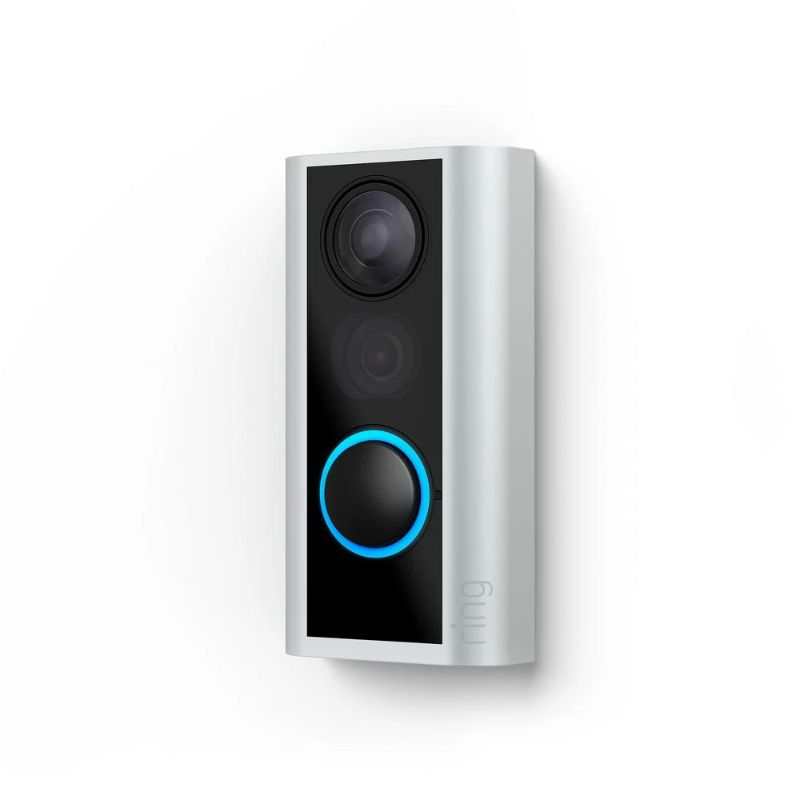 Ring Doorbell Peephole Cam & Chime Pro Home Security Bundle-Daily Steals