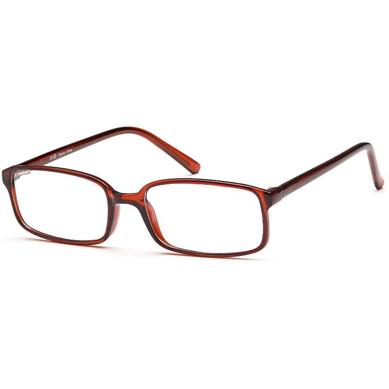 Unisex Eyeglasses 50 19 140 Brown Plastic
